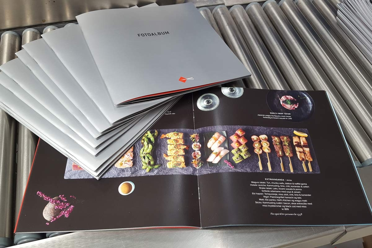 Brochure - Sticks and sushi